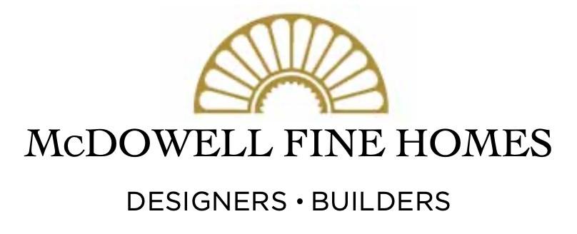McDowell Fine Homes Logo